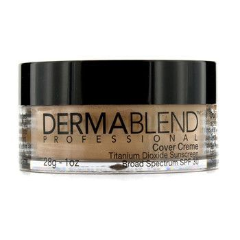 Dermablend 1 oz Cover Creme Broad Spectrum SPF 30 (High Color Coverage) - Caramel Beige