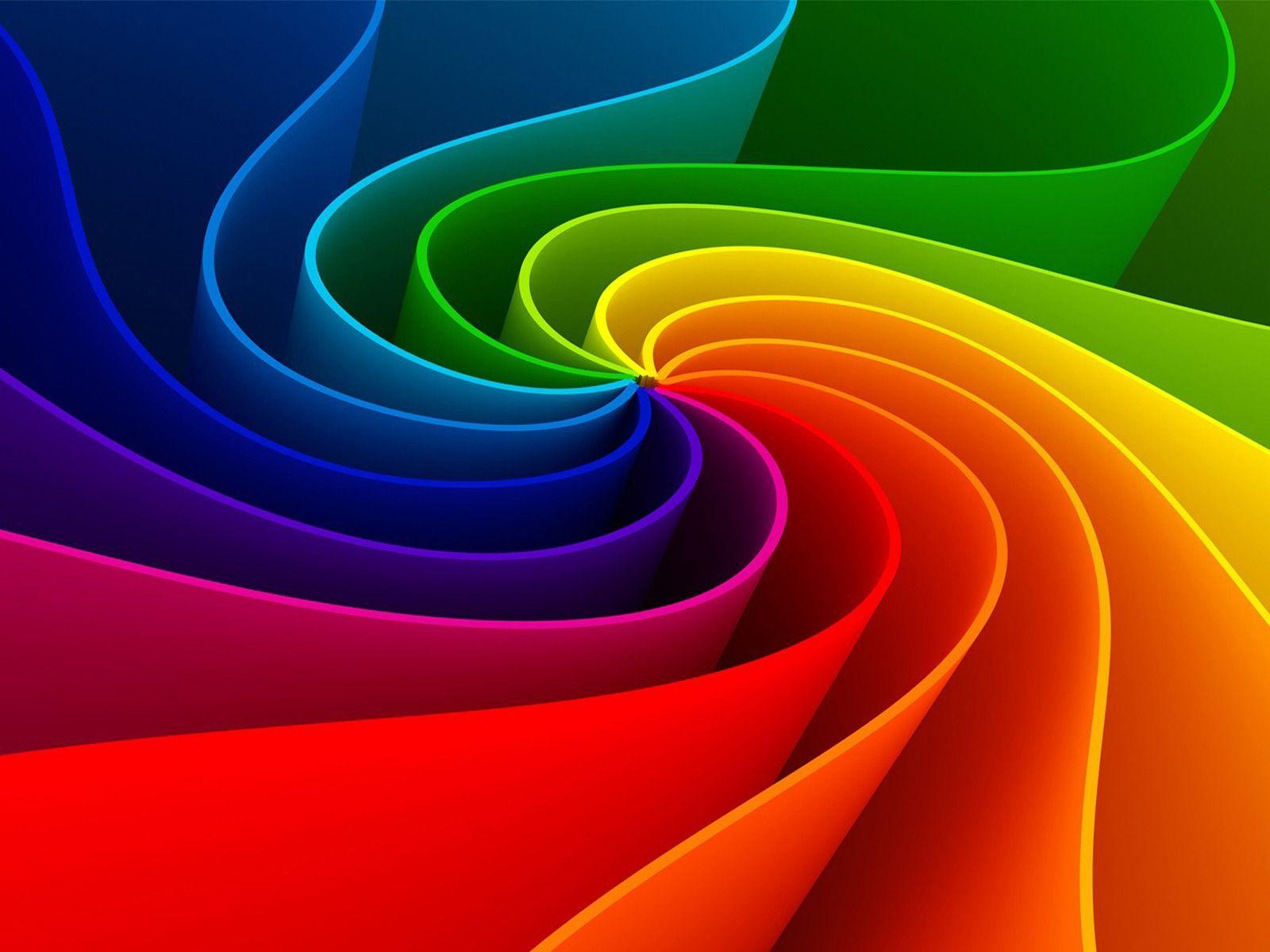 3d Rainbow Wallpaper Picture gxk Awesomeness Pinterest