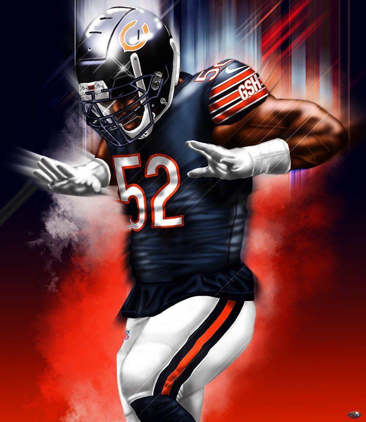 Mack Chicago Bears Wallpaper Chicago Bears Football Chicago Bears