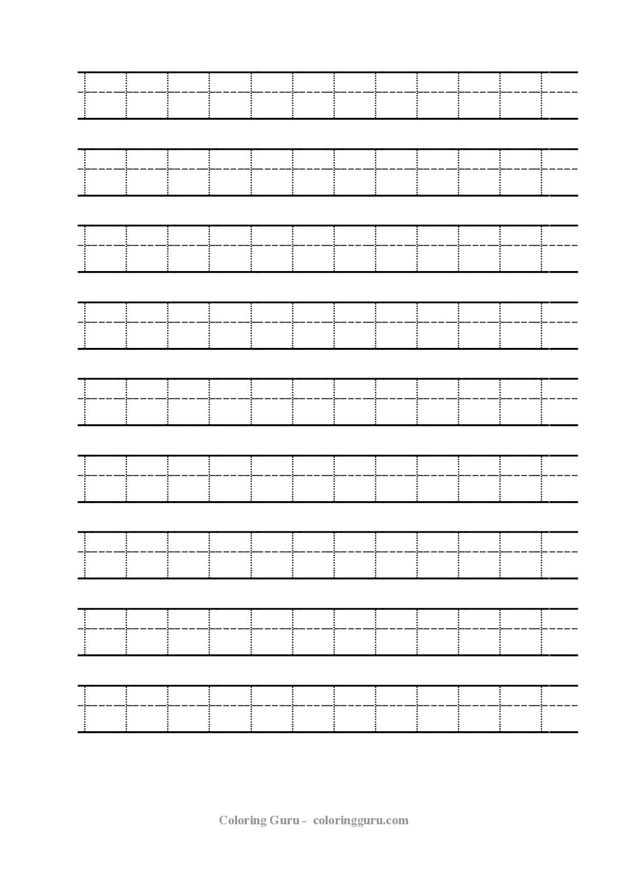 Free Printable Tracing Number 1 Worksheets – Number 1 Worksheet