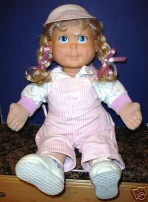 Kid Sister - she was one of my favorite dolls. (I was an only child and having a doll called kid sister was just awesome.) ;)