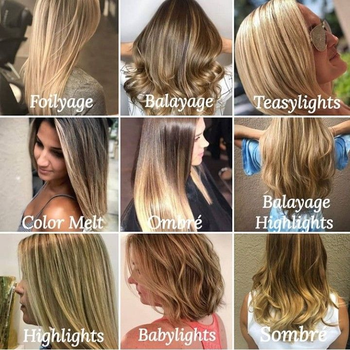 A Guide To Today S Hair Color Techniques By Our Stylists Mystic Hair In 2020 Hair Color Techniques Hair Color Hair Techniques