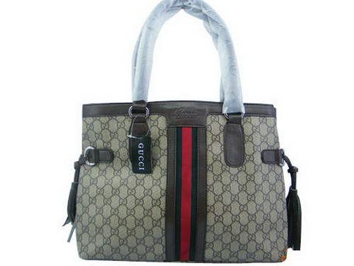 Gucci Broadway Khaki Green Red Yl Shoulder Bags