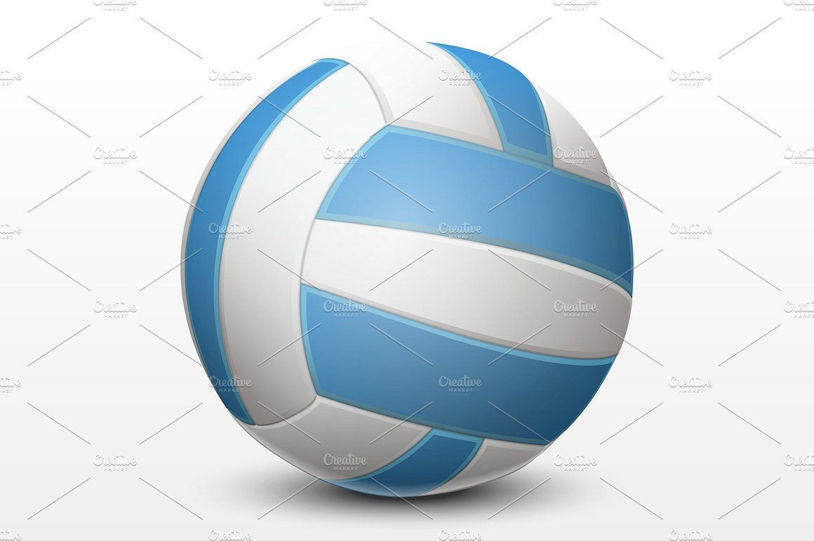 Volleyball Volleyball Blue And White Blue Yellow