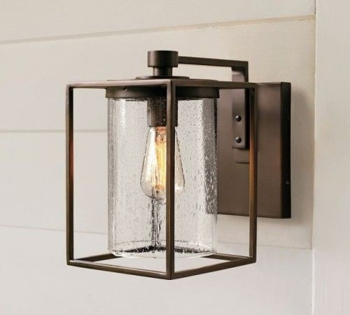I Like Outdoor Light Fixtures To Have Open Bottoms So You