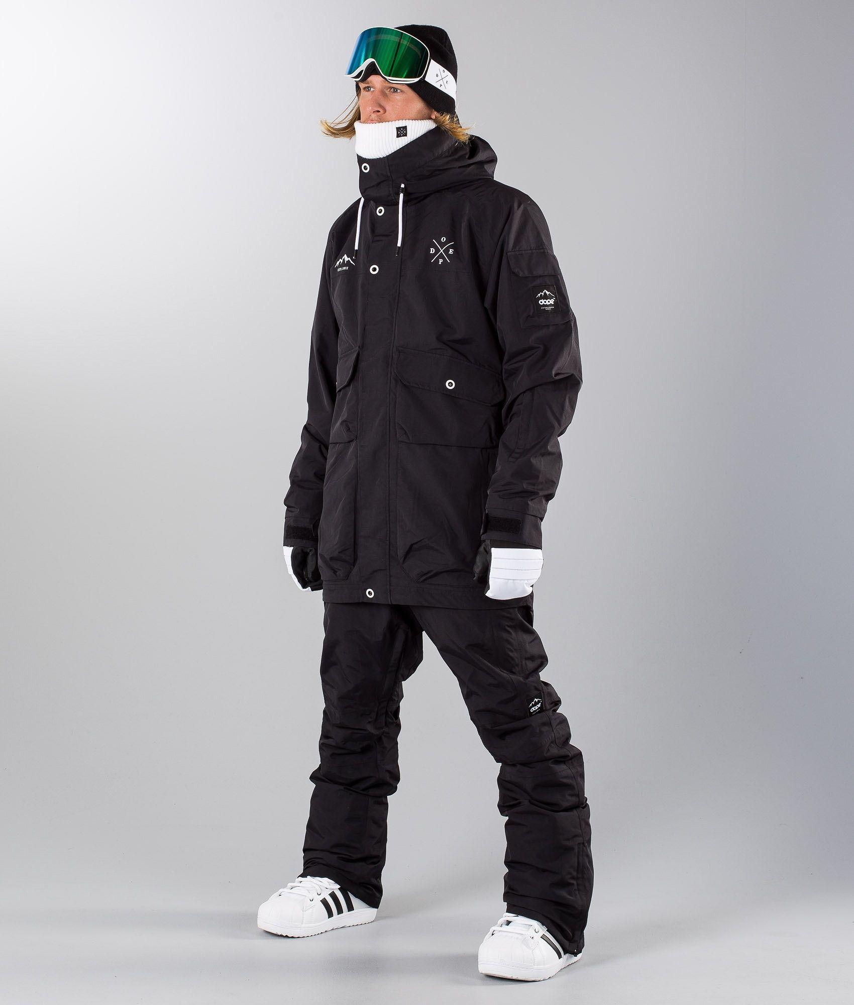 bed1aae27cb Dope Hoax II Snowboard Jacket Black | Snowboard Gear | Snowboard ...