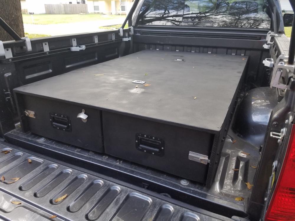 Tundra DIY Storage Drawer System Toyota Tundra Forum in