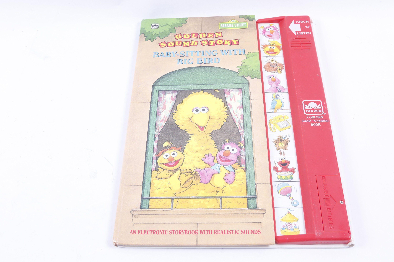 Sesame Street Working Golden Sound Story Baby Sitting