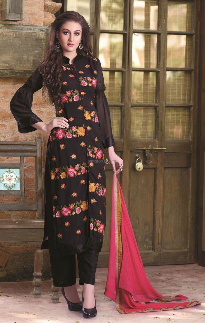 Fancy neck designs for salwar kameez latest designer suits ...