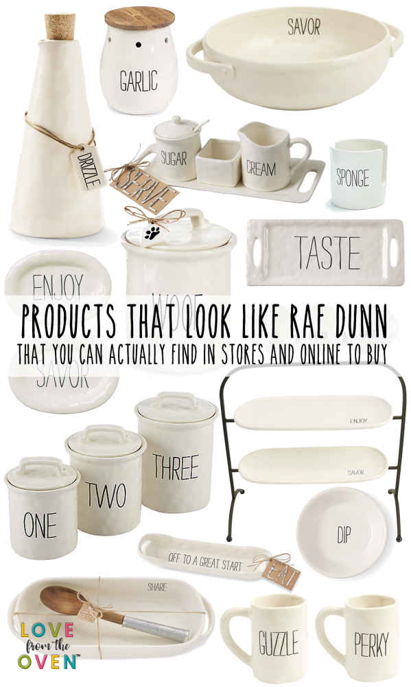 Cute Products That Look Like Rae Dunn You Can Actually Find These