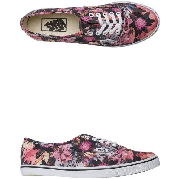 3cd1b234c58180 Vans Floral Mix Authentic Lo Pro Shoe ( 55) ❤ liked on Polyvore featuring  shoes