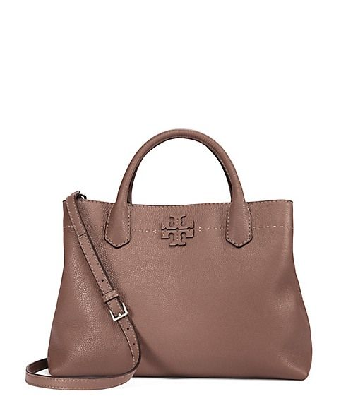 51e89fae545 TORY BURCH MCGRAW TRIPLE-COMPARTMENT SATCHEL.  toryburch  bags  shoulder  bags  hand bags  leather  satchel