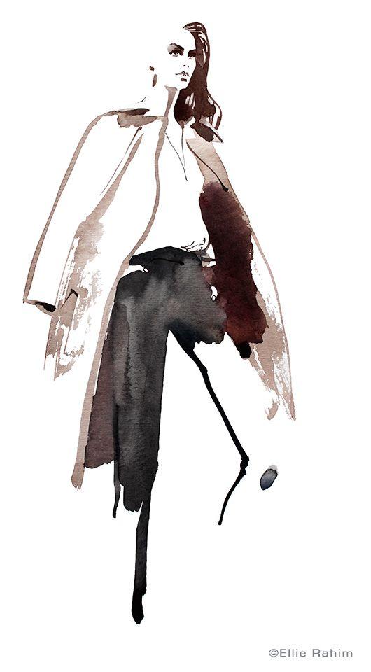 Photo of Fashion illustration // Ellie Rahim