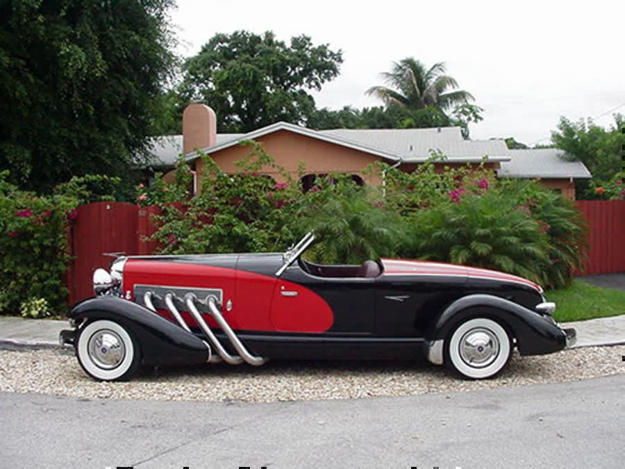 1933 Duesenberg II SJ Boattail Speedster, capable of reaching 140mph and 8.0s of…