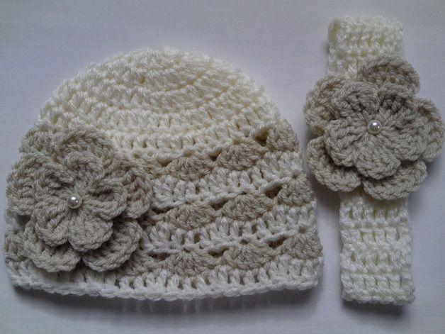 Häkeln Baby Kind Mütze Und Stirnband Deco Pinterest Crochet