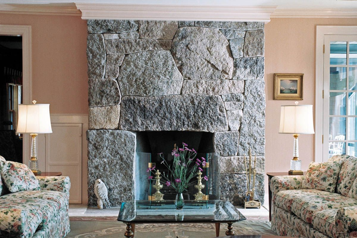 Fireplace And Chimney Stone Fireplace Designs Granite Fireplace