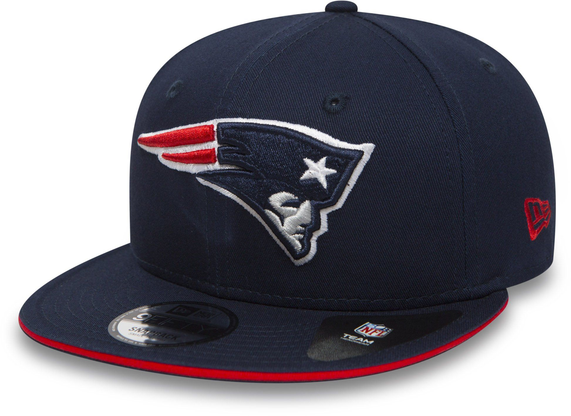 quality design 04784 d2bf0 New England Patriots New Era 950 Sandwhich Visor Team Snapback Cap –  lovemycap