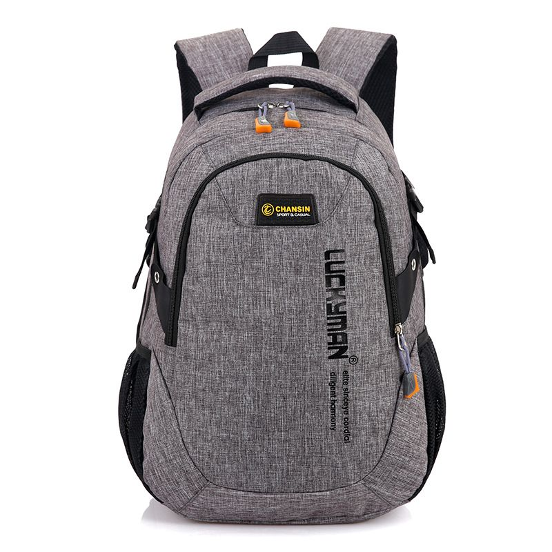 24b525272ea Boshikang Laptop Backpack For Men 14Inch Trendy Male Daypack Oxford Casual Male  Travel Backpack Student Teenager School Bag Boy