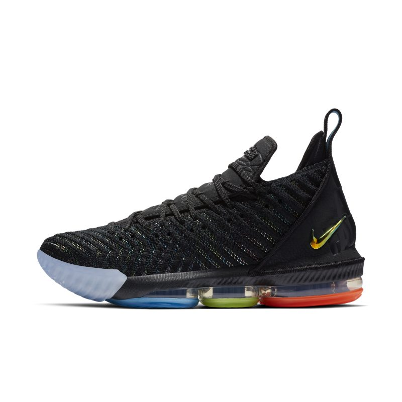 official photos 386e9 01ee4 LeBron 16 Basketball Shoe - Black | Products in 2019 ...