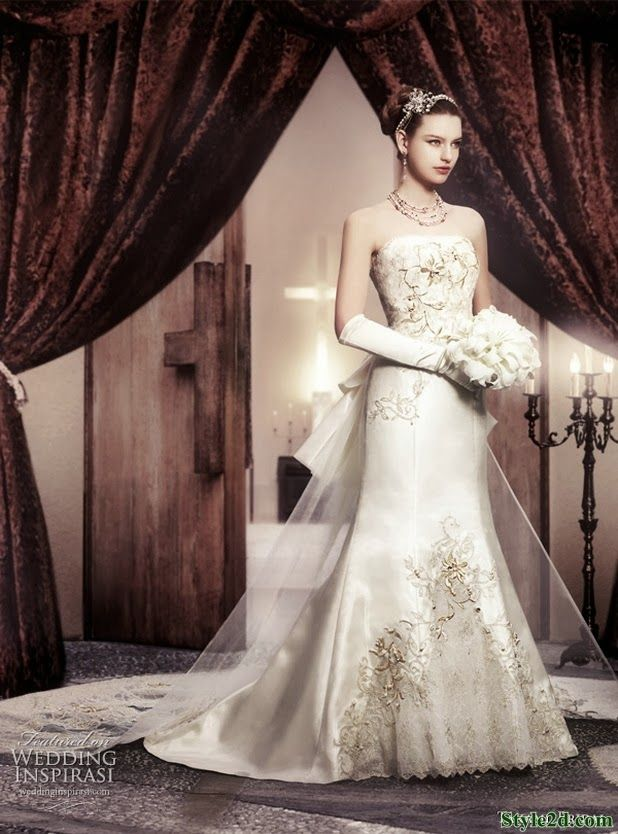 Wedding Brands Royal Dresses Clothes For Women 2014
