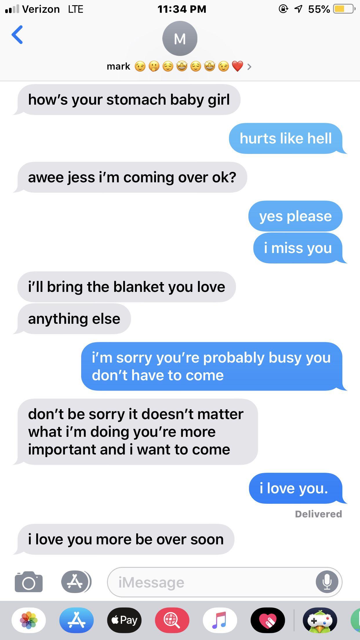 My girlfriend lives with her ex boyfriend