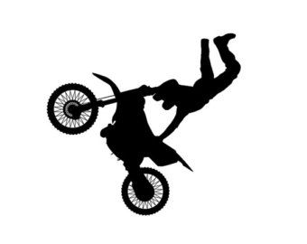 Dirt Bike Clipart Black And White Vehicles For &g...