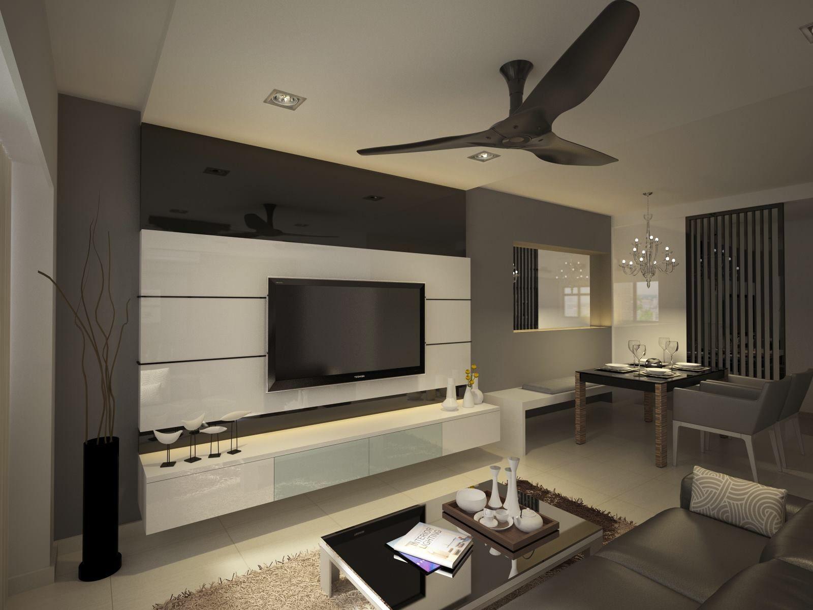 Hdb 5 Room At Blk 3 Holland Close Tv Cabinet Design Tv Cabinet Design Modern Living Room Designs