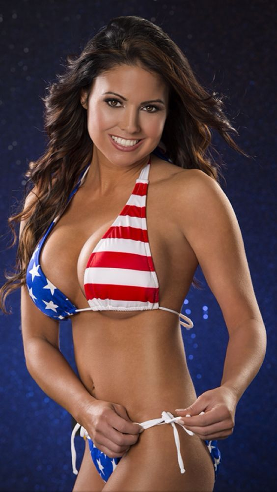 691cea841795c All tied up . . . | Patriotic Swimwear | American flag bikini ...