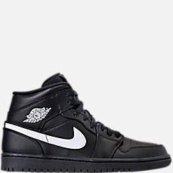 Mens Air Jordan Retro 1 Mid Retro Basketball Shoes