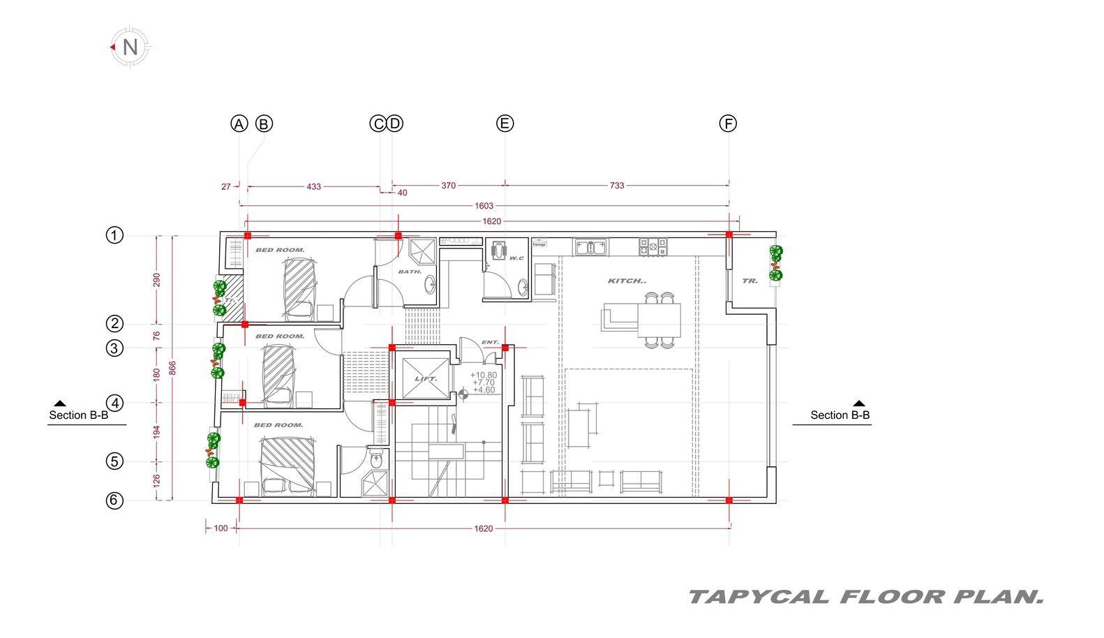 Gallery Of Apartment No 84 Miristudio 25 Apartment Architecture Floor Plans Apartment Layout