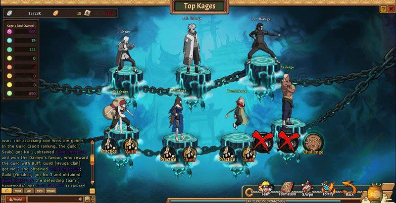 Unlimited Ninja Free Naruto Rpg Online Game Joyfun Com Ninja Games Online Games Naruto Games