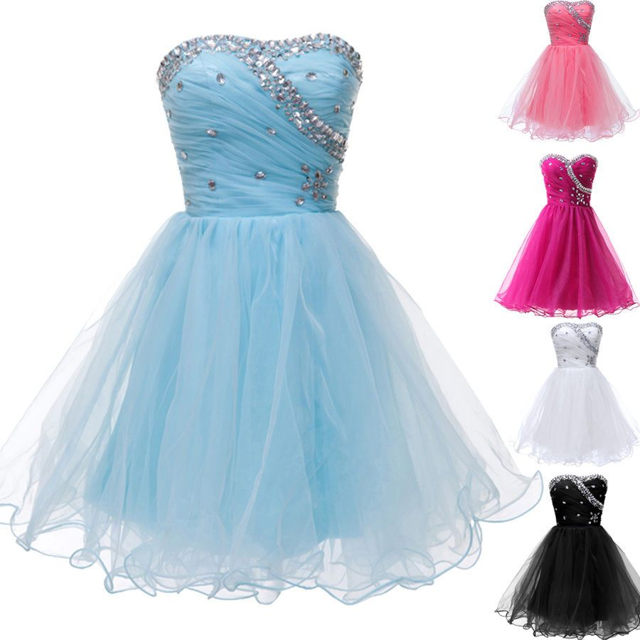 Nice MINI Short Prom Graduation Dresses Homecoming Party Evening ...