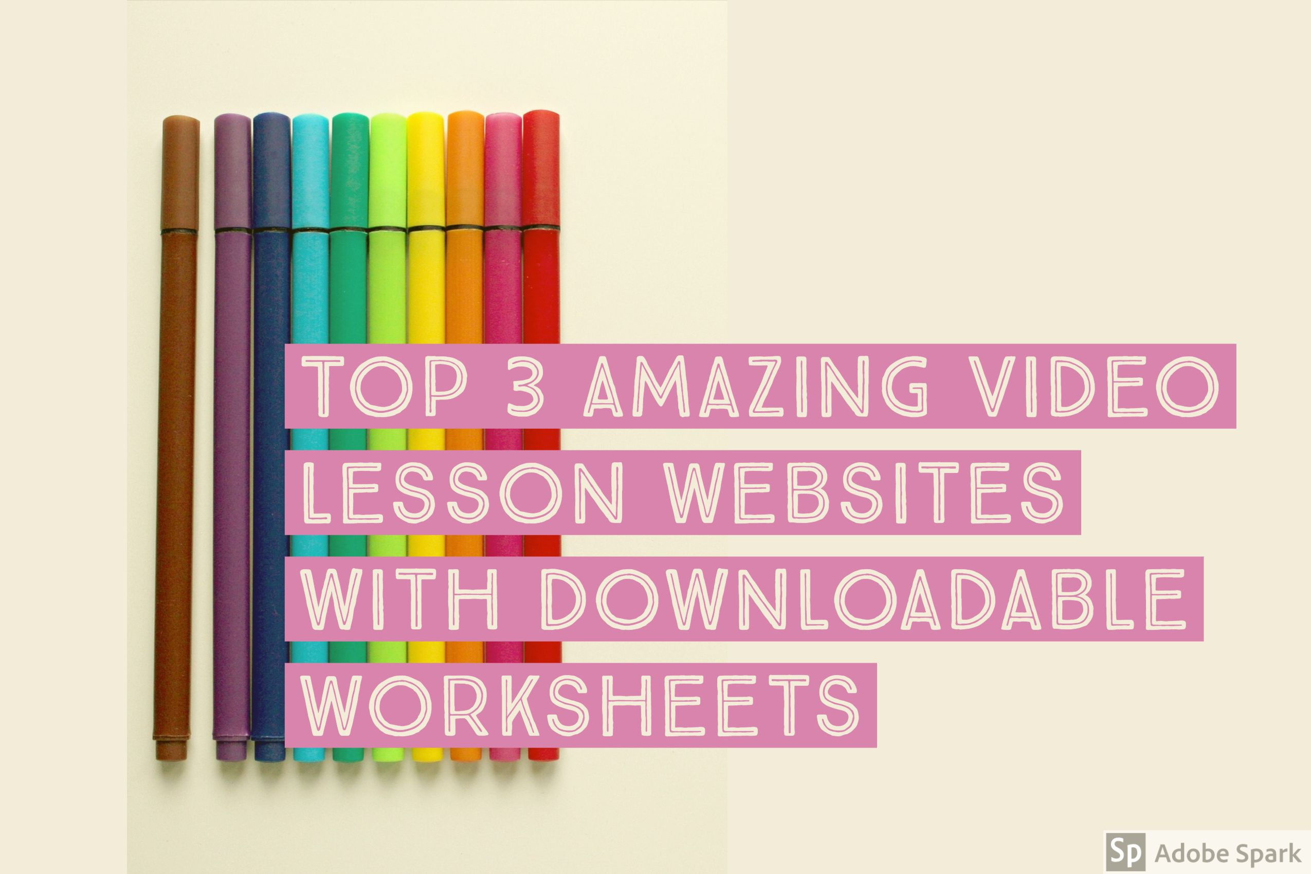 Top 3 Amazing Video Lesson Websites With Downloadable