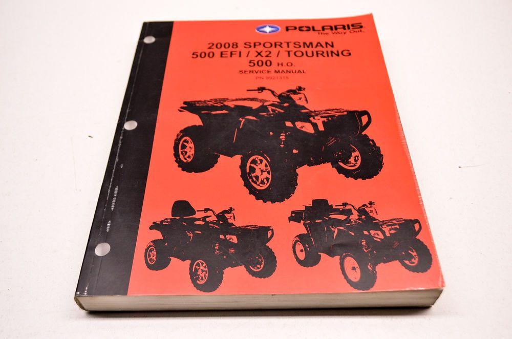 Polaris 2008 sportsman 500 efi x2 touring 500 ho service manual polaris 2008 sportsman 500 efi x2 touring 500 ho service manual ebay motors parts fandeluxe Gallery