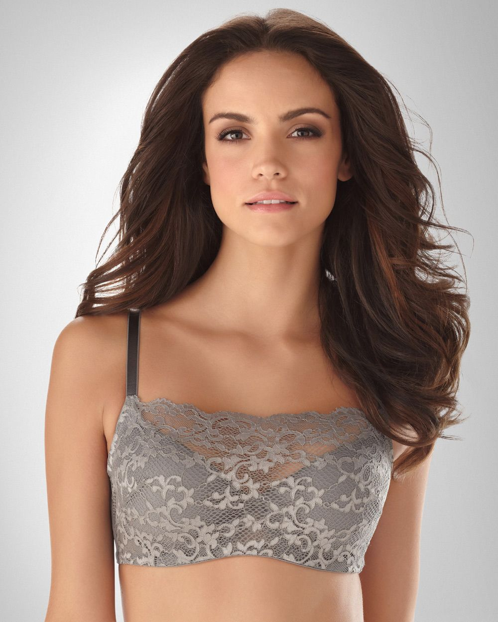 eda575b1a386e Soma Intimates - Dove-Silver Diamond Oh My Gorgeous Camisole Bra by Soma  Intimates