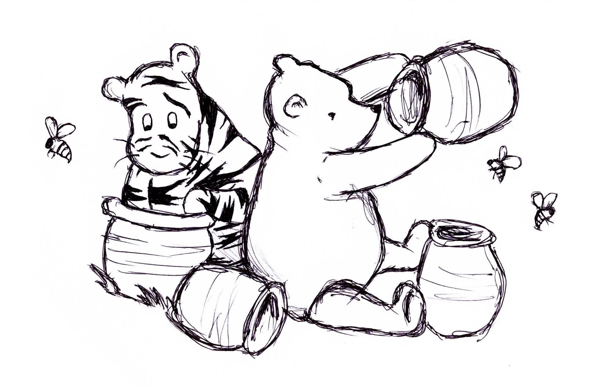 Classic Winnie The Pooh Pooh And Tigger Classic Style