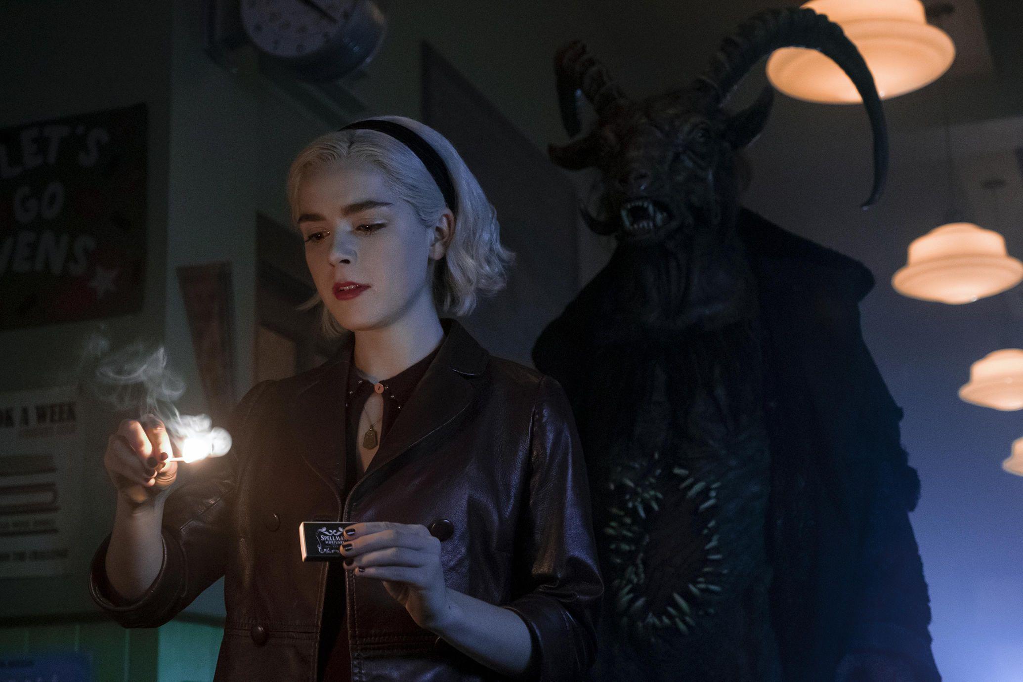 Chilling Adventures Of Sabrina Season 2 Trailer Sabrina