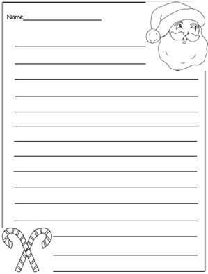 Free Printable Christmas Writing Templates To Encourage Writing