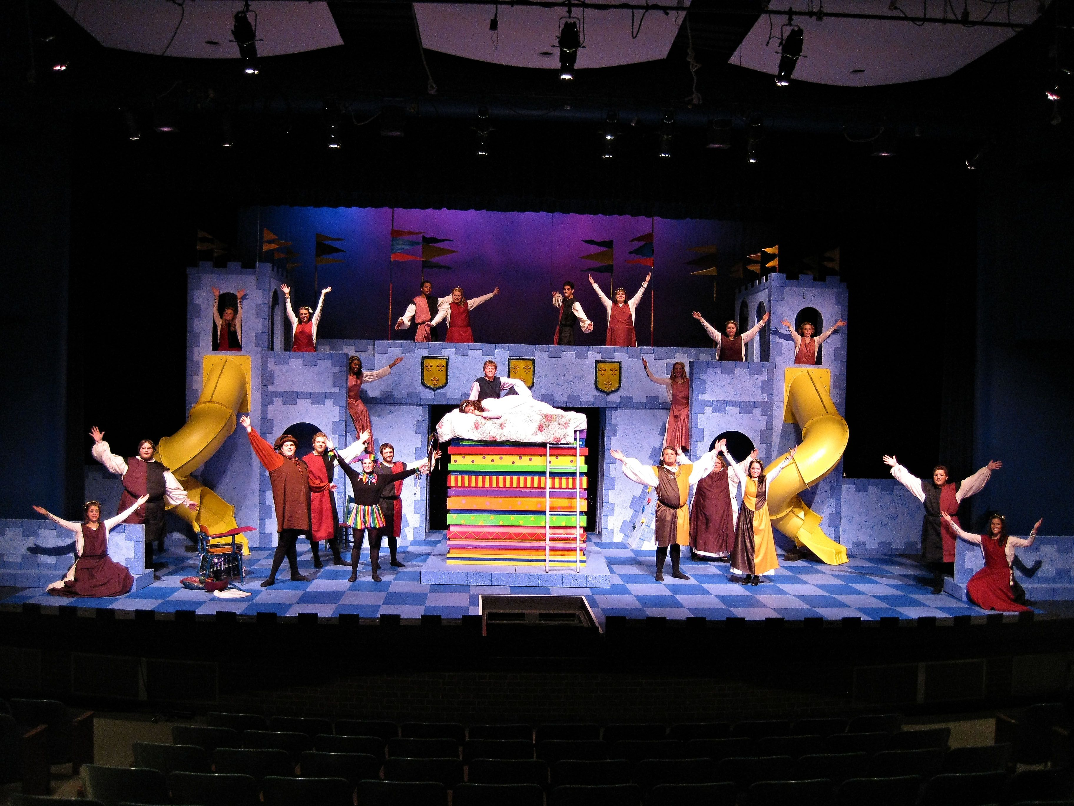 """C-SC's theatre production """"Once Upon a Mattress."""" Don't think"""