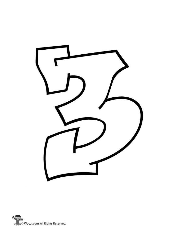 Bubble Graffiti Numbers : bubble, graffiti, numbers, Graffiti, Number, Activities, Numbers,, Lettering, Alphabet,, Alphabet