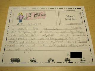Cute Careers Essay  Community Community Helpers  Career Day  Cute Careers Essay