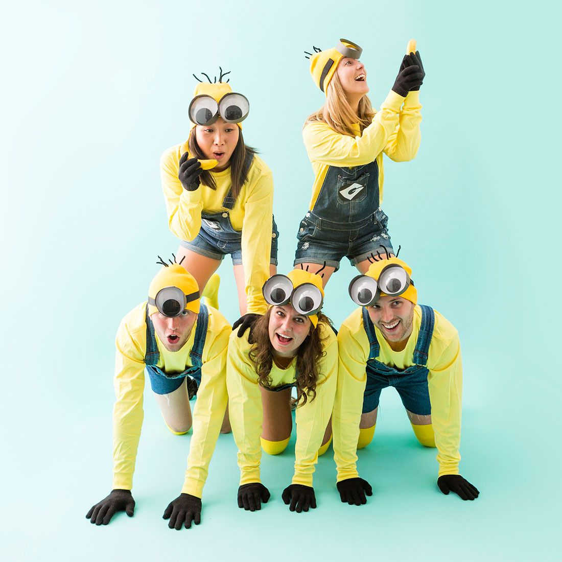 Make Minion Costumes for Your Squad This Halloween