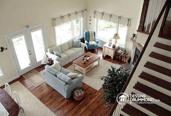 Plan no 2939 de DessinsDrummond Plan de chalet ou maison de 2 - dessiner son plan de maison
