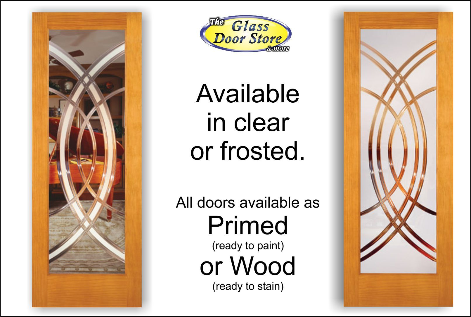 Interior Doors With Circle Etched And Grooved In The Glass.  Http://glassdoorstampa
