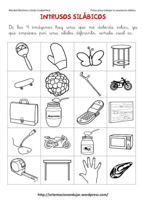 materiales para trabajar la lectoescritura mediante fichas de ...