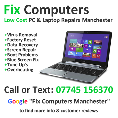 Low Cost Computer Laptop Repair Manchester Get A Free Quote And