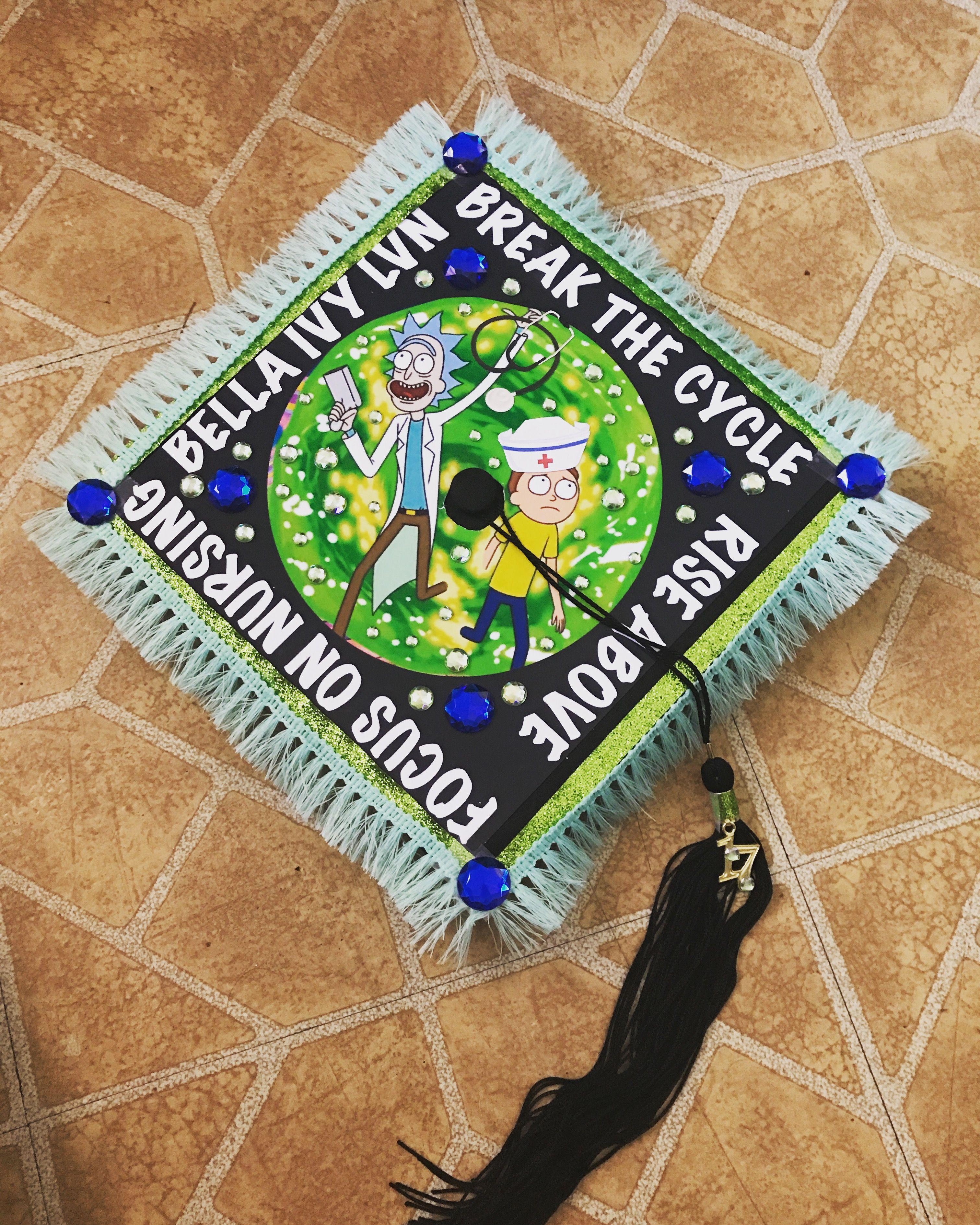 Small Crop Of Nursing Graduation Caps