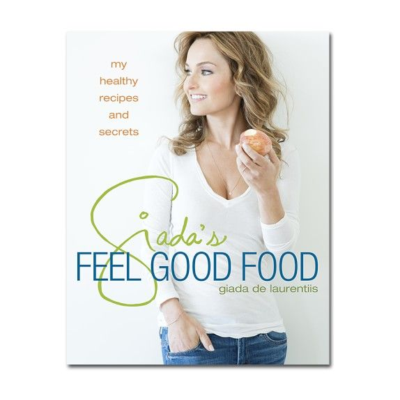 Best cookbook! Giada's Feel Good Food is full of favorite heathy recipes
