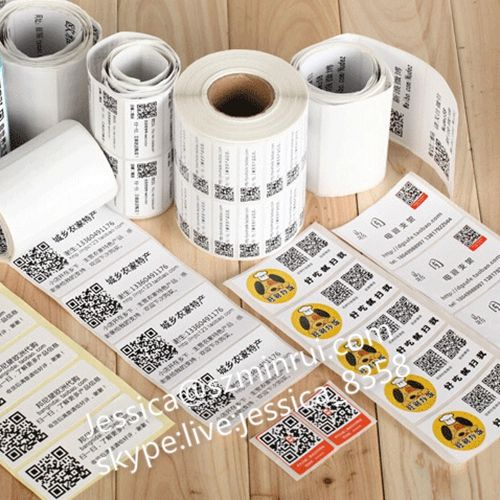 Factory Supply Qr Code Anti Counterfeiting Sticker Printing Qr Code Label Paper Adhesive Sticker Qr Code Label From C Adhesive Paper Label Paper Print Stickers