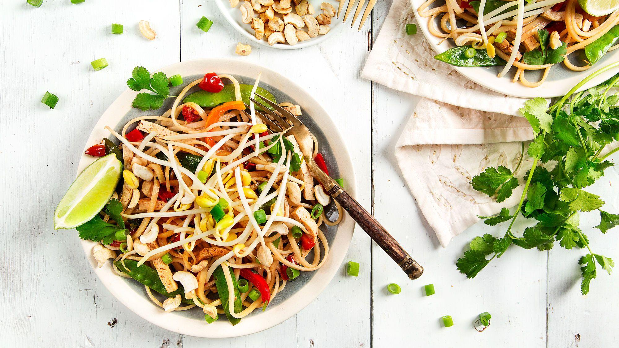 Pad thai recipe food recipes vegetarian recipes
